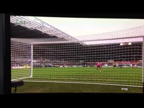 GOAL: MICHU Swansea 2 vs 2 Arsenal 6-1-13