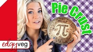 Vegan Pie Crust Recipe (raw) | The Edgy Veg