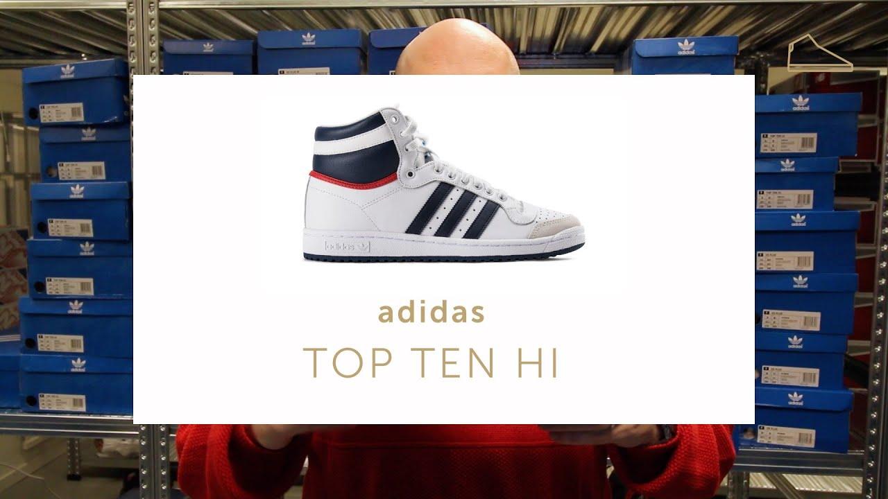 adidas top ten verdi