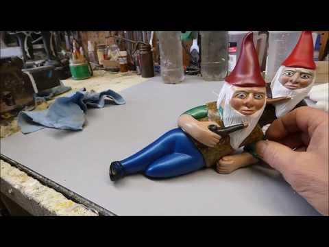 German Garden Gnome resin casting