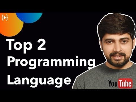 Top 2 Programming Languages In 2019