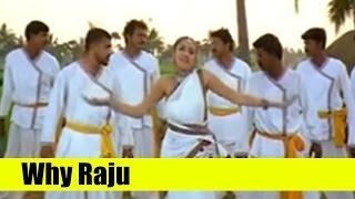 Telugu Song | Why Raju | Ayudham | Rajasekhar, Sangeetha, Brahmanandam
