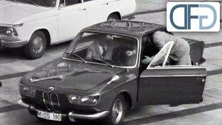 BMW 2000 CS auf der IAA 1965