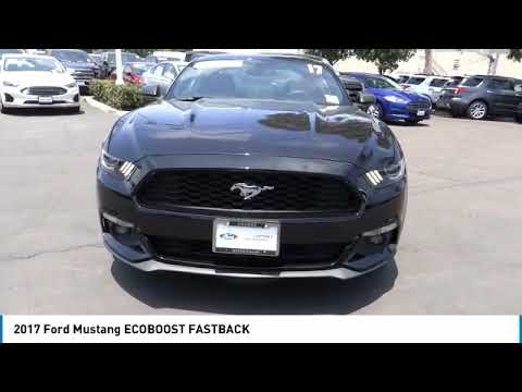 2017 Ford Mustang ORANGE TUSTIN PLACENTIA FULLERTON ORANGE COUNTY 00A91518