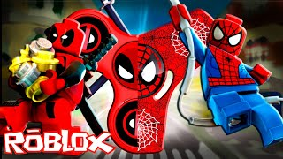 FIDGET SPINNER MÁGICO DO HOMEM ARANHA VS SPINNER DEADPOOL no ROBLOX