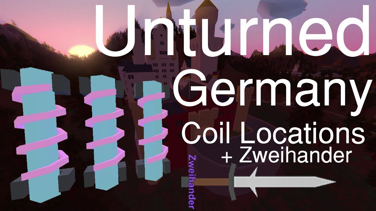 Unturned Germany All Teleporter Coil Locations Easter Egg - Berlin map unturned