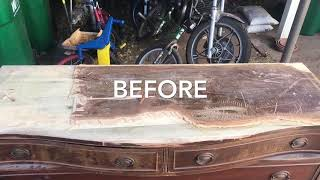 Gambar cover The most AMAZING Up-Cycle Repurposed Furniture Piece Ever!!