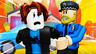 He Was Arrested For Being A Noob In Adopt Me?! A Roblox Movie (Story)