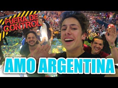 MI PRIMERA VEZ EN ARGENTINA / Juanpa Zurita