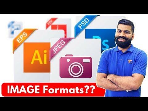 Image File Formats Explained - JPEG, RAW, PNG, GIF, TIFF, EPS Etc.