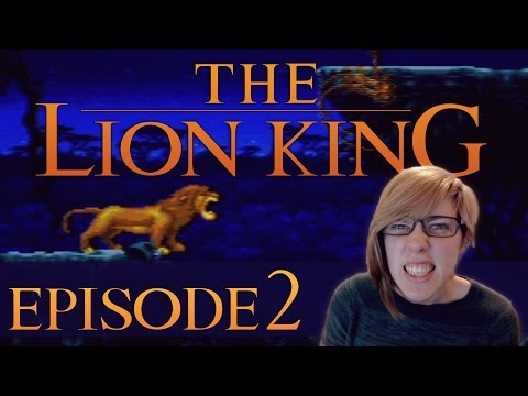 The Lion King (SNES) // EP2 // JUMP OVER HIS COCONUT-THINGIES!