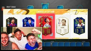 BEST ATTACK EVER IN 190 FUT DRAFT vs ANESONGIB!! (FIFA 20)