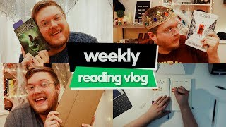 SICK AS A DOG // Weekly Reading Vlog