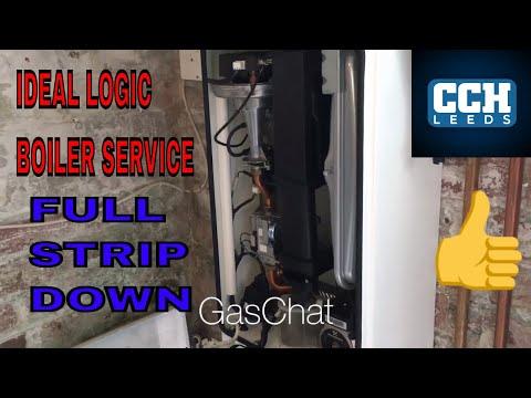 Ideal Logic Boiler Service Guiseley Leeds
