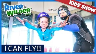 I CAN FLY!?! FAMILY HAS iFLY INDOOR SKYDIVING ADVENTURE