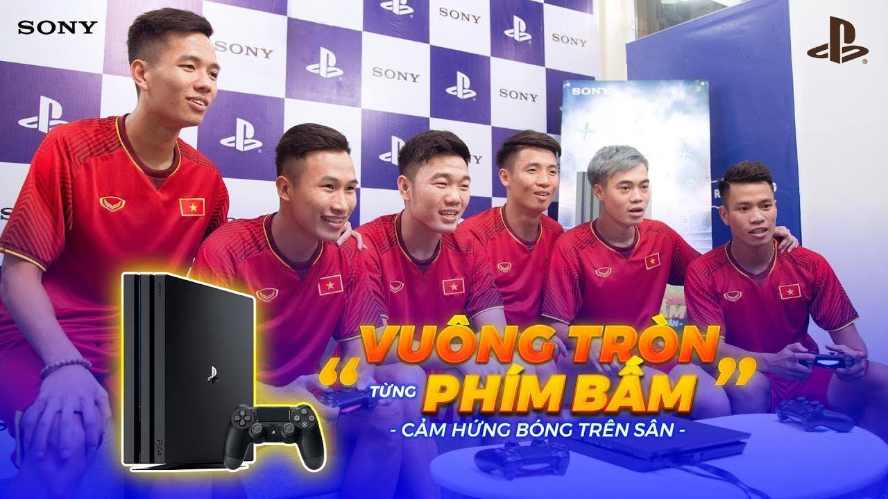 Bạn có biết U23 Việt Nam nghĩ gì về Game FIFA18 trên Sony PS4?