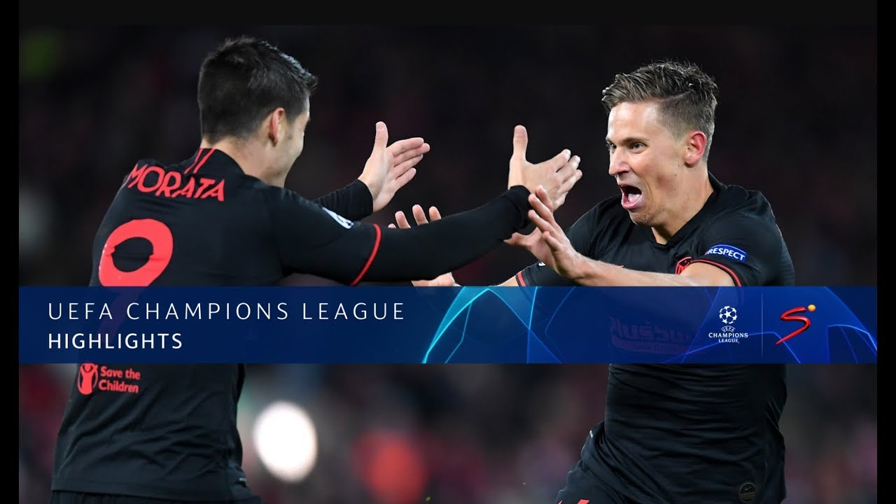 UEFA Champions League | Liverpool v A Madrid | Highlights