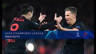 UEFA Champions League | Liverpool v Atletico Madrid | Highlights