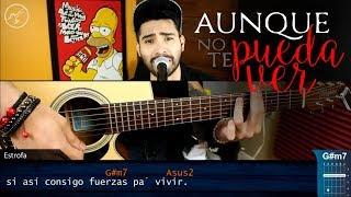 Aunque No Te Pueda Ver - Alex Ubago | Cover Acústico | Christianvib Guitarra