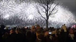 Салют Санкт Петербург Петропавловская крепость 30 декабря 2016