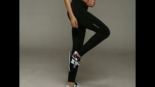 Покупки с Aliexpress спортивные брюки- лосины(Отличные спортивные леггенсы ничем не уступающие Nike and Adidas только в рази дешевле, плотные не светятся, хорош..., 2016-03-09T21:57:29.000Z)
