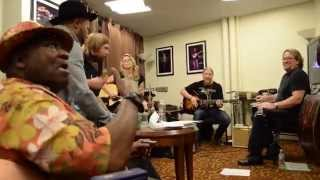Led by Taj Mahal and joined by Jerry Douglas, TTB works up a versio...