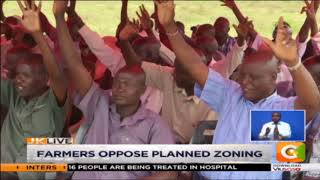 Sugarcane farmers in Kisumu County have rejected plans to reintrodu...