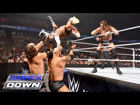 Enzo & Big Cass vs. AJ Styles & Karl Anderson: SmackDown, July 14, 2016