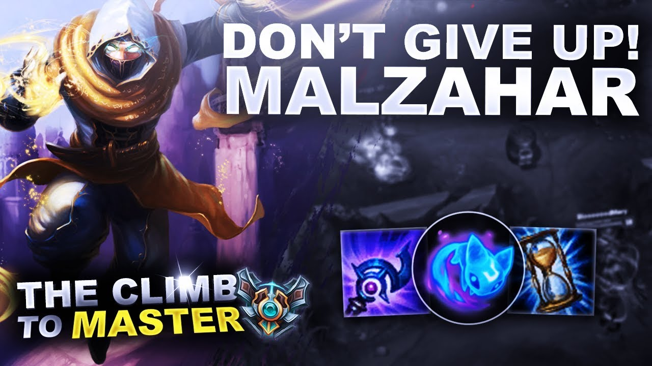 1ab716bf EARLY VS LATE GAME, MALZAHAR MID - Climb to Master | League of Legends