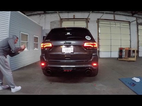 Installing Eagle Eye Taillights and rear fog kit from Taillight Solutions on a 2015 Jeep SRT