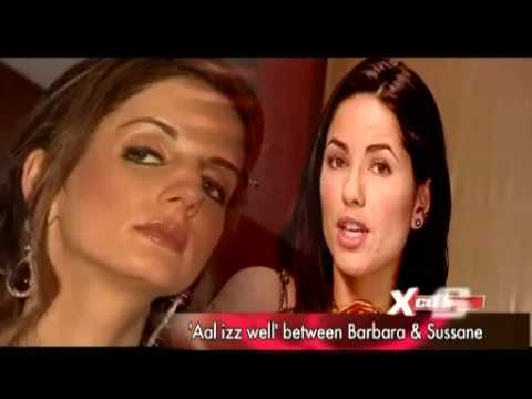 Barbara Mori clear all controversy with Hrithik - YouTube