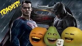 Annoying Orange - Batman V Superman: Dawn of Justice TRAILER Trashed!!