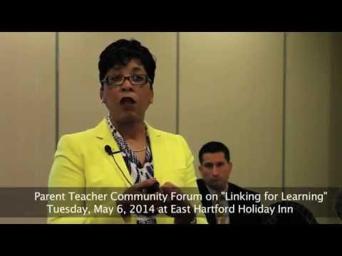 """Dr. Karen Mapp at """"Linking for Learning"""" PTC Forum"""