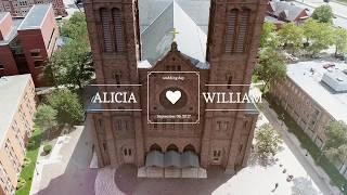 THE ALICIA + WILLIAM WEDDING RECAP MOVIE