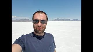 Дальнобой США. Посетил озеро Бонневиль. Продолжаю рейс на Volvo VNL в Калифорнию.