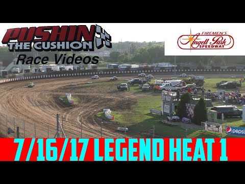 Angell Park Speedway - 7/16/17 - Legends - Heat 1