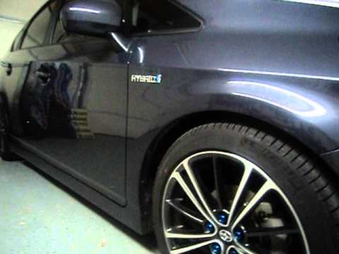 Lowered Prius W Frs Wheels Youtube