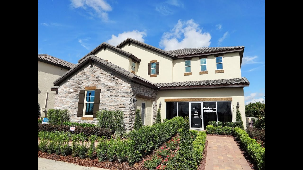winter garden new homes watermark by meritage homes jasmine model youtube - New Homes Winter Garden