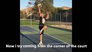 6'2 White kid's journey to dunking Video