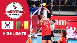 KOREA vs. CAMEROON - Highlights | Women's Volleyball World Cup 2019