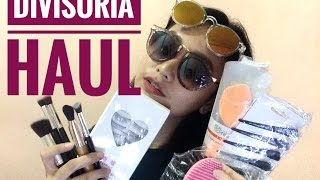 DIVISORIA HAUL! with where to buy! (Tripod, Falsies, Brushes, Sponge, and more!)   Lou Sanchez
