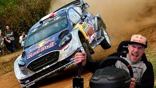 НАСТОЯЩЕЕ РАЛЛИ В ИСПАНИИ НА FORD FIESTA WRC 7