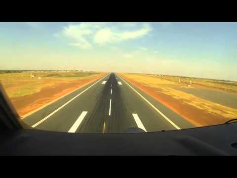 Royal Danish Air Force C-130 Hercules landing at Bamako Airport