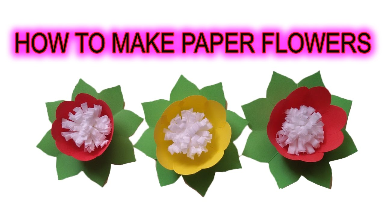 Origami flowers for beginners how to make origami flowers easy origami flowers for beginners how to make origami flowers easy at home dhlflorist Choice Image