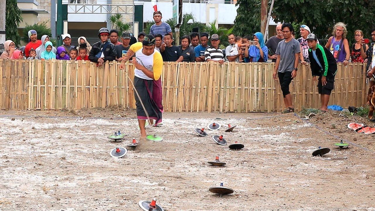 Lomba Gangsing Lombok Lombok Gasing Battle Youtube