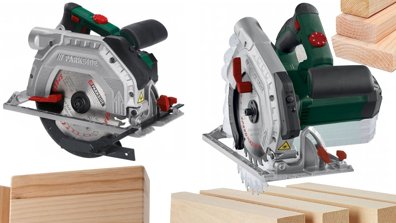 Parkside Plunge Saw Pts 710 A1 Unboxing Testing By Techguru