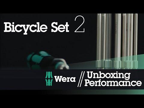 EJ工具《附發票》B2 德國 Wera Bicycle Set 2 鐵馬工具包多功能起子13件組-帆布包