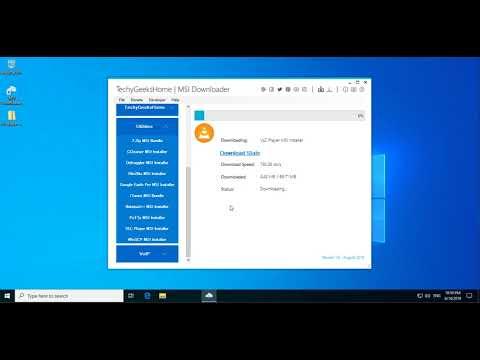 MSI Downloader Demo Walkthrough