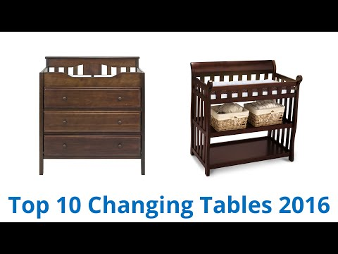 10 Best Changing Tables 2016