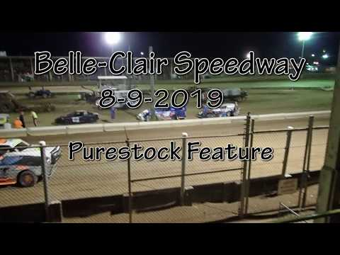 Belle Clair Speedway Puresock Feature August 9 2019